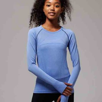 fly tech long sleeve tee | ivivva
