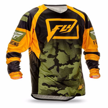 2017 Mountain downhill Bike long sleeve cycling Jersey DH MX RBX MTB racing clothes Off-road Motocross Jersey maillot ciclismo