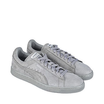 The Suede Classic Matte & Shine Sneaker in Grey