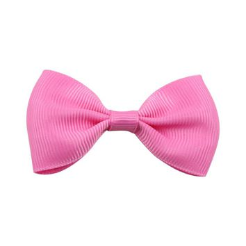 Korean Lovely Children Kids Girls Solid Color Hairclip Cute Bowknot Design Hairpin Hair Clips Kids Hair Accessories