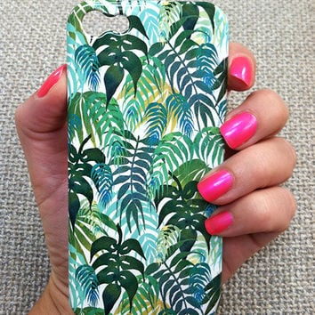 LOST - Tropical Jungle Phone Case iphone 5/ 5S / 4/ 4S Samsung 3/4