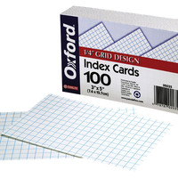 Index Cards 3X5 Wht