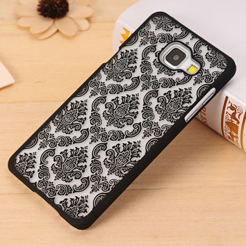 Palace Flower Hard Plastic Cover Case For Samsung Galaxy A3 A5 A7 J5 J7 A510 J510 j3 j1 2016 Grand Prime S3 S4 S5 S6 S7 Edge