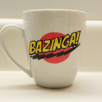 Bazinga! The Big Bang Theory Sheldon Cooper 12 oz Mug