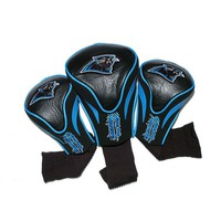 Team Golf Carolina Panthers 3-pc. Contour Head Cover Set (Pth Team)