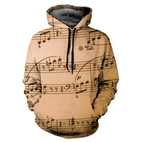 Music Notes Hoodie