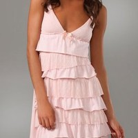Juicy Couture Flirt Tiered Ruffle Nightie