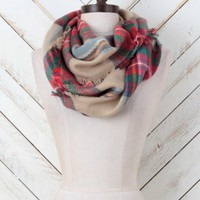 Merry Merry Infinity Scarf | Altar'd State