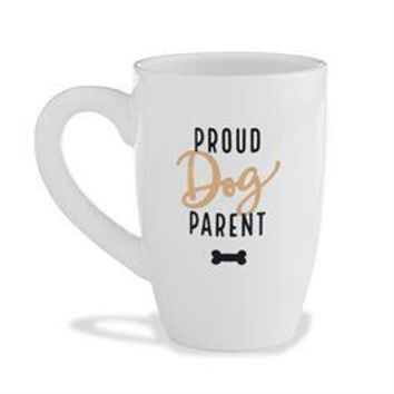 """Proud Dog Parent"" Mug By Mudpie"