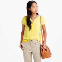 COLLECTION LUXE SILK POCKET SHELL