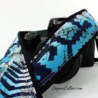 Camera Strap, dSLR or SLR, Southwestern, Tribal, 122 cw