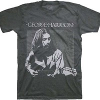 GEORGE HARRISON - LIVE PORTRAIT MENS TEE, featuring scoop neckline, short sleeve.