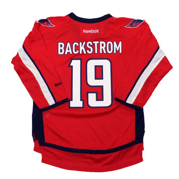 Nicklas Backstrom Washington Capitals Reebok Child Replica (4-6X) Home NHL Hockey Jersey