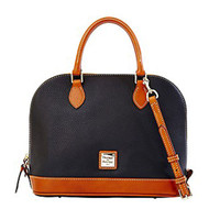 Dooney & Bourke Pebble Zip Satchel - Black