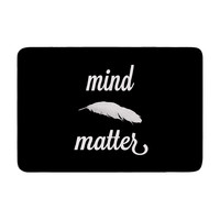 "Skye Zambrana ""Mind Over Matter"" Memory Foam Bath Mat"
