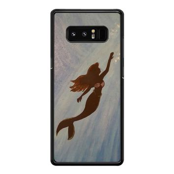 Flying Mermaid Samsung Galaxy Note 8 Case