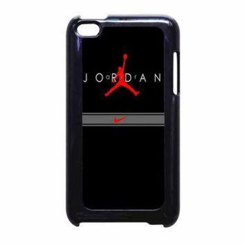 DCKL9 Jordan Nike Red iPod Touch 4th Generation Case