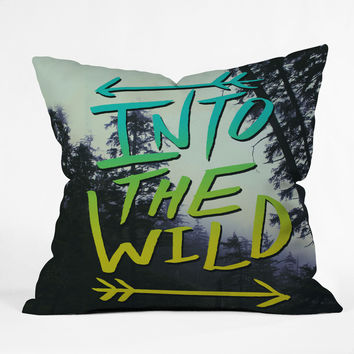 Leah Flores Into The Wild 2 Throw Pillow