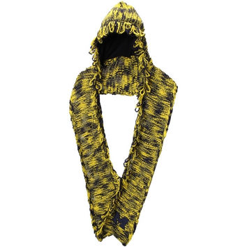 Michigan Wolverines adidas Women's Hooded Scarf – Maize