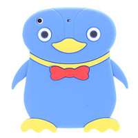 Soft Blue Lovely Penguin Case for iPad mini