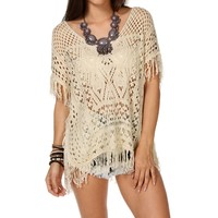Sale-open Knit Cover-up
