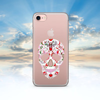 iPhone 7 Case Skull iPhone 7 Plus Case iPhone 6 Case Clear iPhone 6S Case Clear iPhone SE Case Transparent iPhone 6S Plus Case Clear
