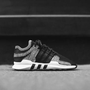 PEAPGE2 Beauty Ticks Adidas Originals Eqt Support Adv Pk - Silver / Black / White