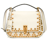 Ivory Joylock Saddle Bag