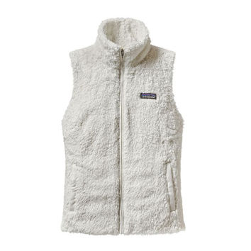 Patagonia Women's Los Gatos Fleece Vest- Birch White