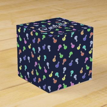 Curious? Colorful Question Marks Gift Favor Box