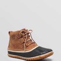 Sorel Lace Up Waterproof Duck Booties - Out N About