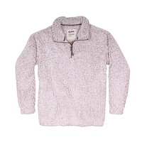 Frosty Tipped Women's Stadium Pullover in Oatmeal by True Grit (Dylan) - FINAL SALE