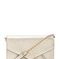 kate spade new york Monday Crossbody in Metallic Gold
