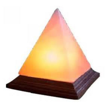Pyramid Salt Crystal Lamp - Large | Get Go Retro