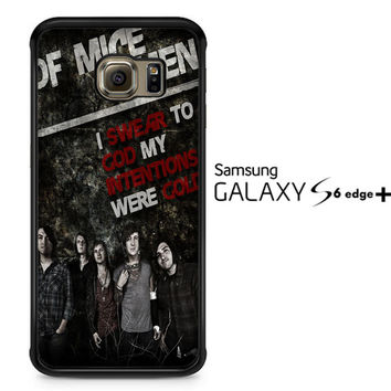 Of Mice and Men Band F0544 Samsung Galaxy S6 Edge Plus Case