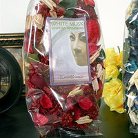 White Musk Mouget, Iris and Sandalwood Egyptian Scents Potpourri by Flaires 3-PACK - 7609