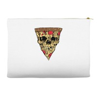 pizza skull Accessory Pouches