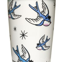 SOURPUSS BLUE BIRDS TUMBLER