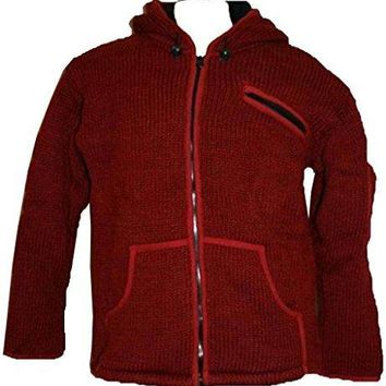 920 WJ Wool Sherpa Unisex Jacket Sweater Knitted