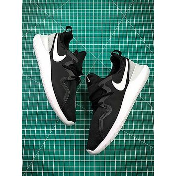 Nike Wmns Tessen Roshe Run 4 Black White Sport Running Shoes