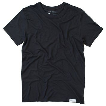 The Basic Vintage Black T-Shirt