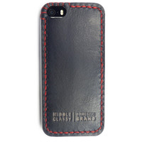 MIDDLE CLASSY SPROCKET LITE IPHONE 5/S CASE IN BLACK/RED
