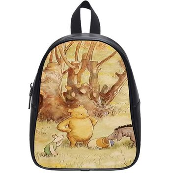 Classic Winnie The Pooh School Backpack Large
