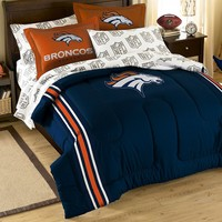 Denver Broncos 5-piece Full Bed Set