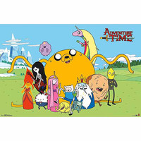 Walmart: Trends International Adventure Time Group Poster