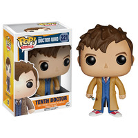 Doctor Who 10th Doctor Pop! Vinyl Figure - Funko - Doctor Who - Pop! Vinyl Figures at Entertainment Earth