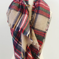 English Morning Tea Scarf