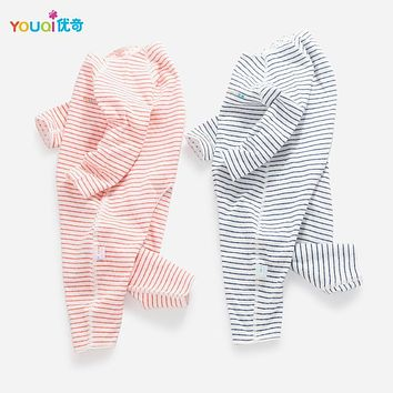 YOUQI Quality Baby Clothes Boy Baby Girl Rompers Cotton 3 6 24 Months Toddler Infantil Clothing Cute Child Jumpsuit Baby Clothes