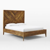 Alexa Reclaimed Wood Bed