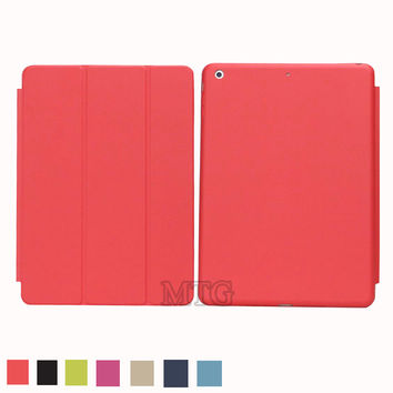 Smart Case For Apple iPad air 1 Hot sell Business pu Leather Stand Cases capa fundas For iPad 5 case Cover
